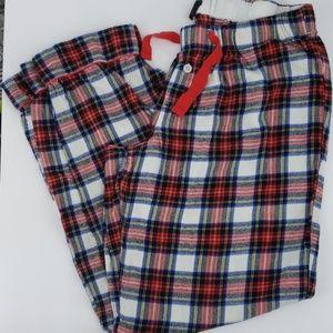 J. Crew, Plaid,  Pajama/ Lounge Pants, Size Medium